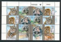 Israel - 1992, Michel/Philex No. : 1240-1243 - BOGEN - MNH - *** - - Blocks & Sheetlets