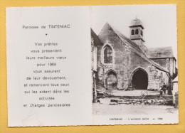 TINTENIAC 35 ( CALENDRIER DE POCHE 1969 ) EDITION COMBIER - Calendriers