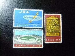 GRECIA - GRÈCE - 1965 - 24 JEUX BALKANIQUES A ATHEÈNES - YVERT & TELLIER Nº 865 / 867 ** MNH - Greece