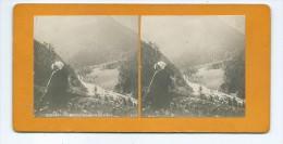Vues Stéréoscopiques Photo Sur Carton - Pyrénees - La Haute Vallée De La Pique - Stereoscopio