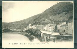 N°6  Cahors  - église Saint Georges Et Route D'Acambal   - Eay64 - Cahors