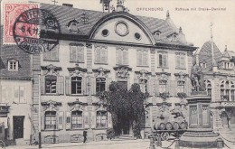 Allemagne -  Offenburg - Rathaus Mit Drake-Denkmal - Verlag Carl Günner - Postmarled 1911 - Offenburg