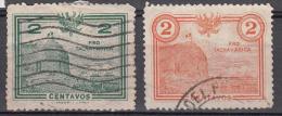 Treinen, Trains, Locomotive, Eisenbahn: Peru 1926 Z4 + Z9 Pro Plebiscite Tachna And Arica - Trains