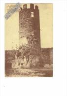 43 - Environs De RETOURNAC - Tour De L'ancien Château Féodal Des Chalencons - N°8 Cliché Jean Bernard - 1926 - Other Municipalities