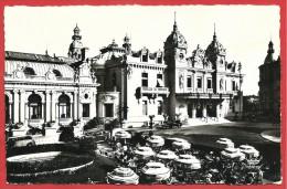 CARTOLINA VG MONTECARLO - Monaco - Le Casinò - 9 X 14 - ANNULLO 1957 TARGHETTA - Monte-Carlo