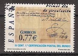 España U 4125 (o) Día Del Sello. 2004 - 2001-10 Usados