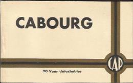 CARNET Complet De 20 Cartes Postales Anciennes De CABOURG (Compagnie Des Arts Photomécaniques). - Cabourg