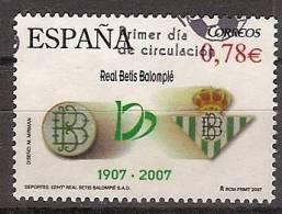 España U 4341 (o) Real Betis. 2007 - 2001-10 Usados