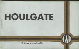 CARNET Complet De 12 Cartes Postales Anciennes De HOULGATE (Compagnie Des Arts Photomécaniques). - Houlgate