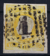 Portugal:  1866 YV Nr 19    Mi Nr 18 Used
