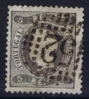 Portugal:  1867 YV Nr 26  Mi Nr 25 Used