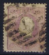 Portugal:  1867 YV Nr 34 Mi Nr 33 Used