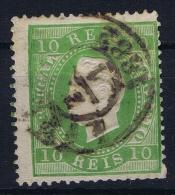 Portugal:  1870 YV Nr 37  Perfo 13.50 Mi Nr 47 XBC Used