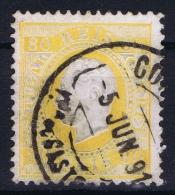 Portugal:  1870 YV Nr 43A   Perfo 12.50 Mi Nr 40 YBB Used