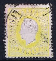 Portugal:  1870 YV Nr 47 Perfo 12.50 Mi Nr 49 Used