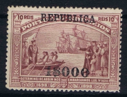 Portugal:  YV Nr 195 , Mi 189  MH/*