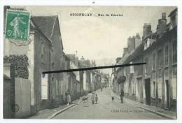 CPA - Seignelay - Rue De Gatelot - Seignelay