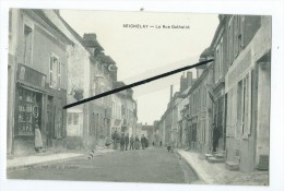 CPA - Seigneley - La Rue Gathelot - Seignelay