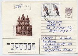 MOLDOVA 1992 Cover To Ukraine With Michel 19 X 2 - Moldavia