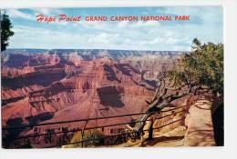 (AZ) HOPI POINT, GRAND CANYON NATIONAL PARK, OLD POSTCARD VINTAGE VIEWCARD