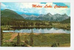 (CO) MOLAS LAKE, SOUTH OF SILVERTON, OLD POSTCARD VINTAGE VIEWCARD