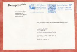 Brief, FRANKIT Neopost 1D030.., Allgaeuer Festwoche Kempten, 55 C, 2005 (68677) - BRD