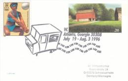 OLYMPISCHE SPIELE-OLYMPIC GAMES, USA/ATLANTA 1996, Special Cancellation !! - Ete 1996: Atlanta
