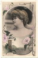 YRVEN-  Reutlinger  - Decor Art Nouveau Paysagé TB écrite - Artisti