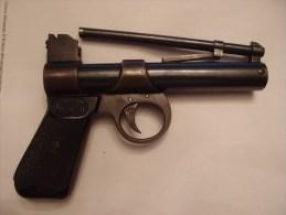 Webley & Scott England Junir 177 Pistolet à Air Comprimée à Plomb - Militaria