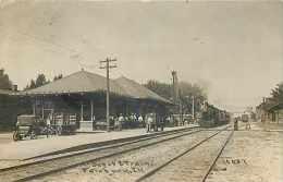 230917-Depot, Illinois, Fairbury, RPPC, Toledo Peoria & Western Railroad Station, 1913 PM, CR Childs Photo No 16637 - Gares - Sans Trains