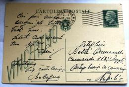 Italy 1932, Postal Card, Used, Issued 1932 - 1900-44 Vittorio Emanuele III