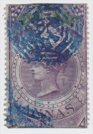 India; SG. 66 - 6 As. Purple 1866 - Inde (...-1947)