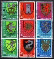 SCHWEIZ - Gemeinde Wappen / Pro Juventute - Lot - Briefmarken