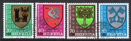SCHWEIZ 1978 - Gemeinde Wappen / Pro Juventute - Kompletter Satz - Briefmarken