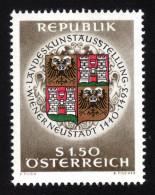 ÖSTERREICH 1966 ** Wappen Wiener Neustadt - MNH - Briefmarken