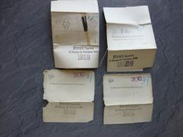 Baron Conrad Et Georges De MEYENDORFF, Lot De 4 Carte Visite Modèle Original Imprimerie Stern, UNIQUES ; Ref853 - Visiting Cards