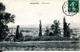 N°41613 -cpa Gargenville -panorama- - Gargenville