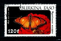 BURKINA  FASO - Farfalle - Butterfly - Year 1984 - Usato - Used.. - Farfalle