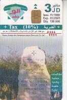 JORDAN - Mount Nebo/Manaba, 11/99, used