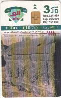 JORDAN - Um Qais 2, 02/99, used