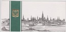 Wien-vienna--greetings Card-gravure-21x10cm-unused,perfect Shape - Wien