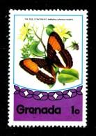 GRENADA - Farfalle - Butterfly - Nuovo -news - MNH ** - Farfalle