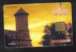 RARE USED PHONECARD FROM MALTA - VERY FINE CONDITION - - Malta