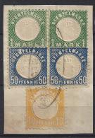 Germany (Baden)  Taxe-Stempelmarken  (o) - Bade