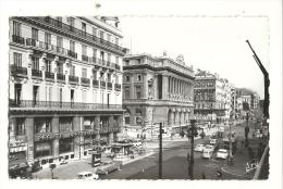 Cp, 13, Marseille, La Cannebière, Voyagée 1966 - Canebière, Centre Ville