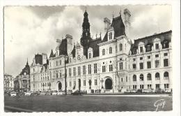Cp, 75, Paris, L'Hôtel De Ville, écrite - Unclassified