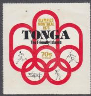 TONGA, 1976 OLYMPICS 70s POSTAGE MNH - Tonga (1970-...)