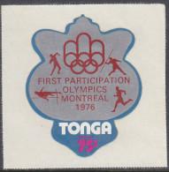 TONGA, 1976 OLYMPICS 75s MNH - Tonga (1970-...)