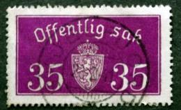 Norway  1934  Minr.17 II    ( O )  SKJELFJORD 28-2-1941  ( Lot 807 ) - Service