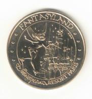 "Monnaie de Paris ""77.Disney n�5-Fantasyland"" 2004B"